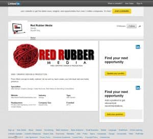 Red Rubber Media @ LinkedIn